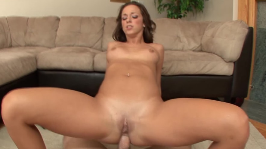 Jada Stevens' Ass Pumped and Mouth Filled With Cum